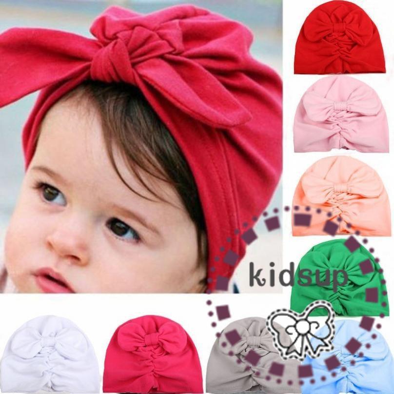 1c4a8c6a2 🔥HOT SALE 🔥Winter Baby Turban Cotton Beanie Warm Cap