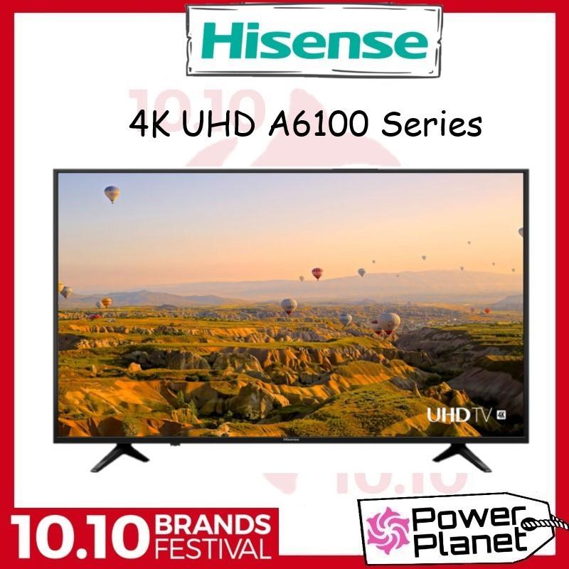 """Hisense TV 58A6100UW 58"""" 4K UHD HDR Smart TV"""