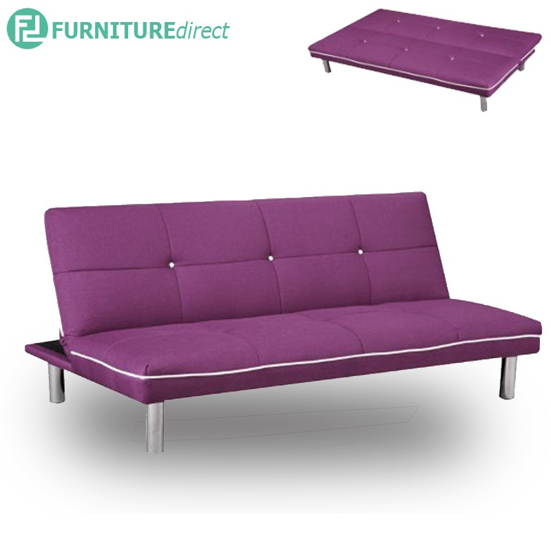 Furniture Direct 3 seater fabric sofa bed- 4 designs