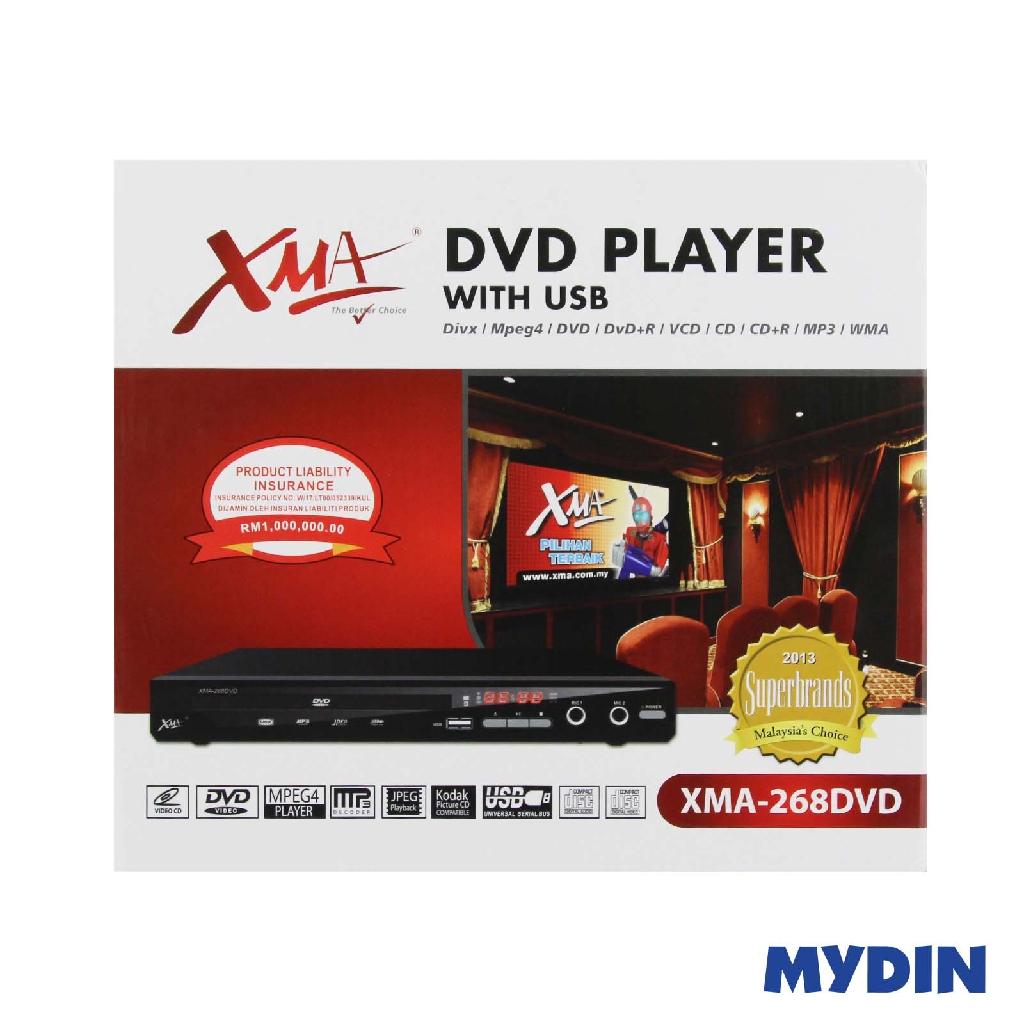 XMA DVD Player XMA 268 DVD