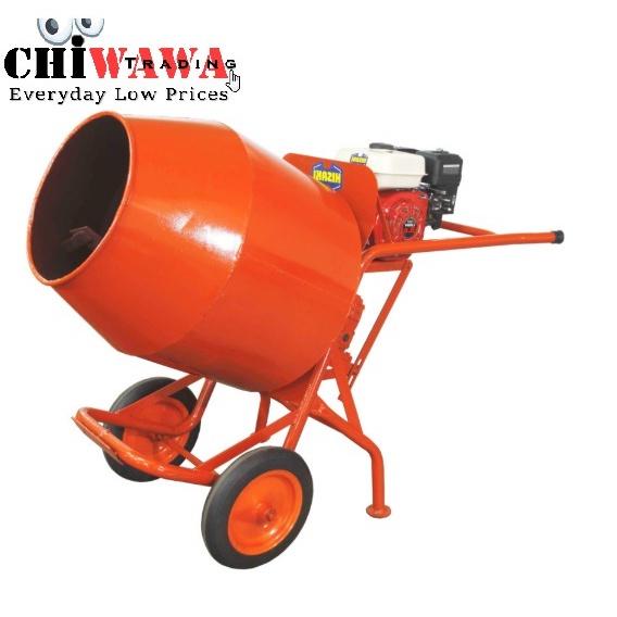 HISAKI Mini Concrete Mixer YMM350 WITH Petrol Engine HG170 5HP
