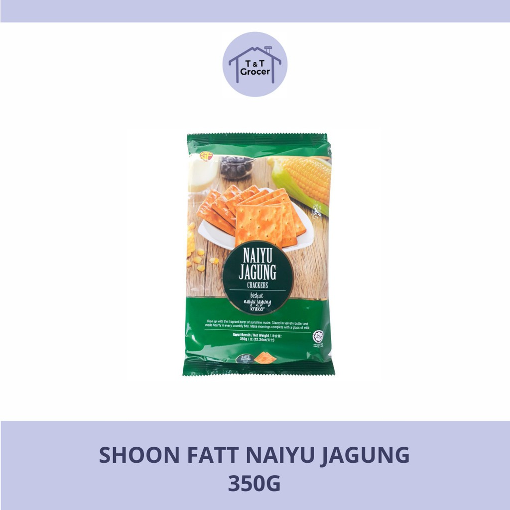 Shoon Fatt Biscuit Naiyu Jagung 350g <Wholesale>