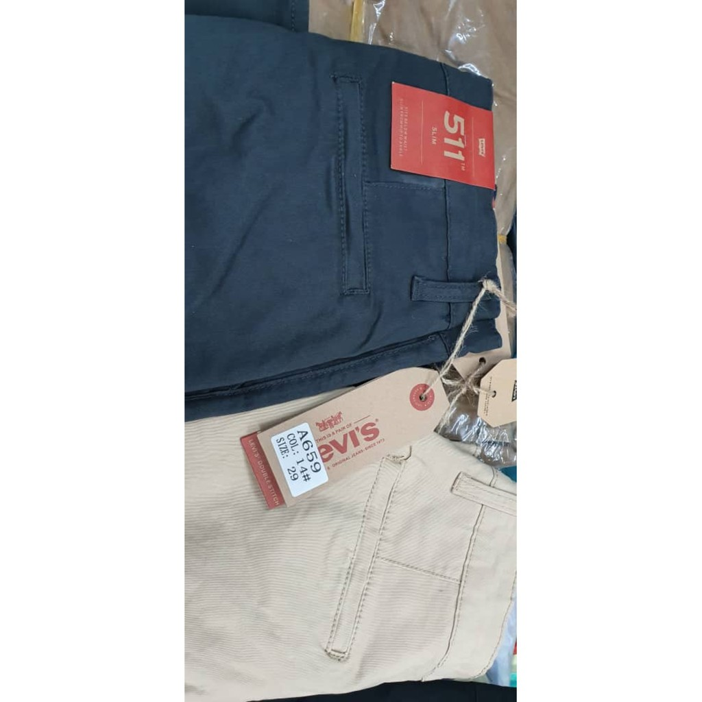 (Re-Stock Malaysia) Season 511 Pants Unisex Office and Casual Stretchable Pants