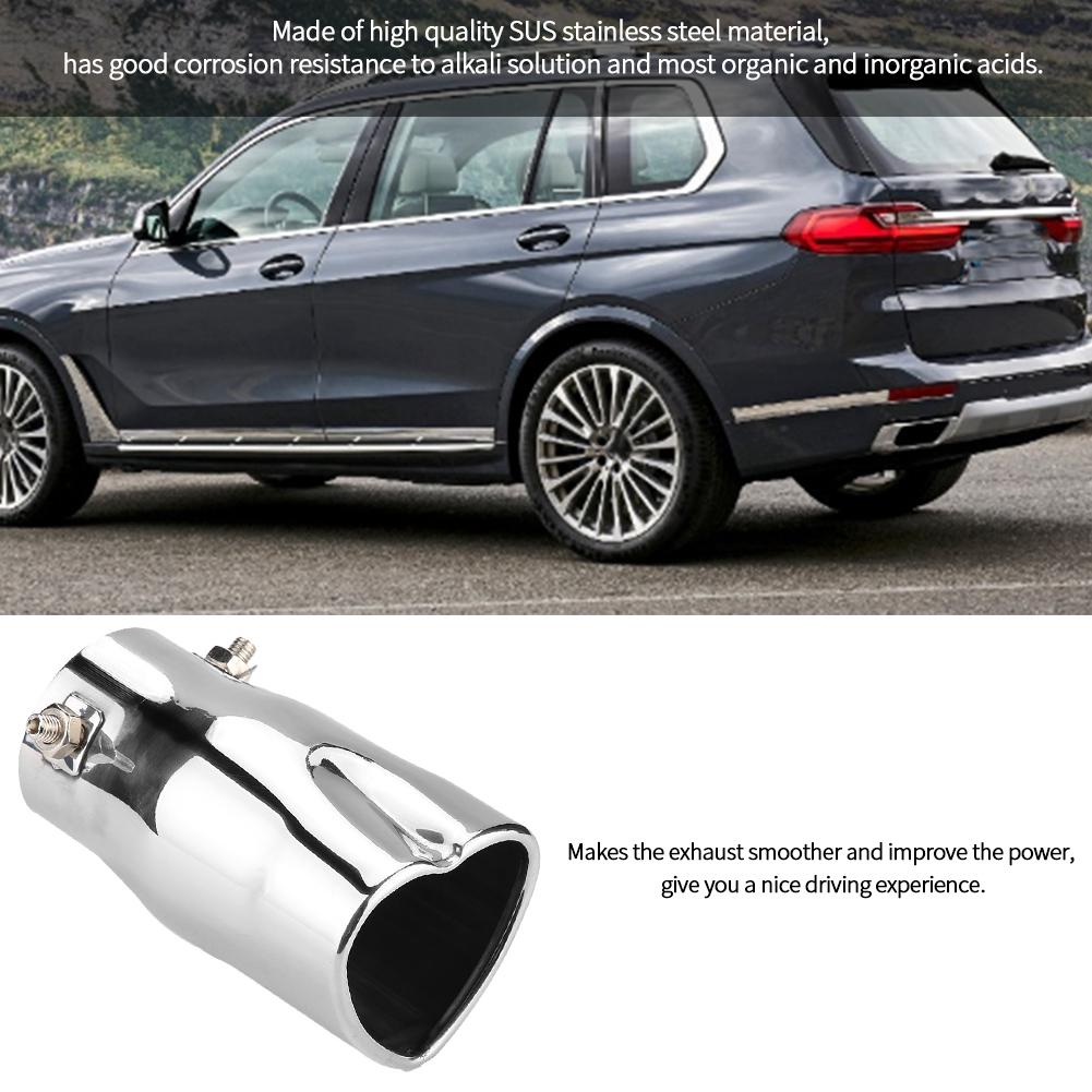 Eleganthome Acouto Car Exhaust Tip,Stainless Steel Universal