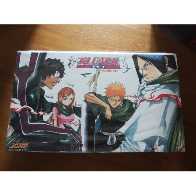 Manga komik bleach boxset 1 vol 1-21 english
