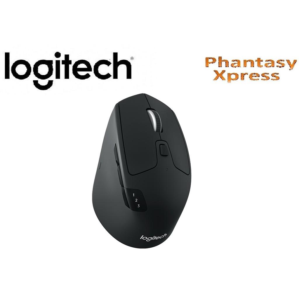 Logitech M585 Multiple Device Multi Mouse Grey Shopee Malaysia Bluetooth