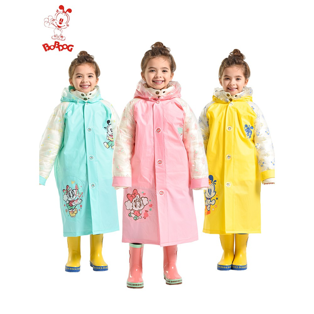 b9b43b4fa Children s raincoat kindergarten pupils environmental protection EVA ...