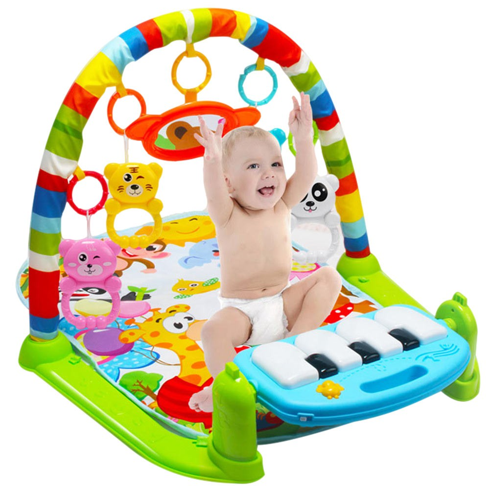 da5d86f8ab6 Musical Play Mats Baby Friend Crawling Blanket Fitness Frame ...