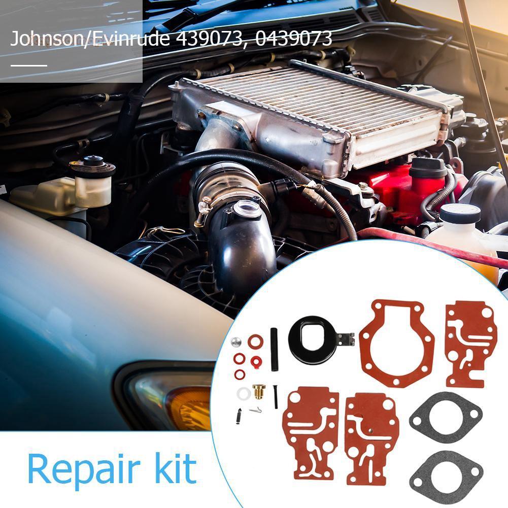 (y)Carb Rebuild Repair Kit for Johnson/Evinrude 6 8 9 9 15 20 HP 86-96  0439073