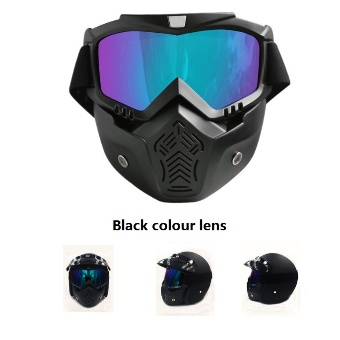 8c01d5fafb2  In Stock COD  GUB V3 Half Covered Retro Cycling Helmet Scooter Helmet  Goggles