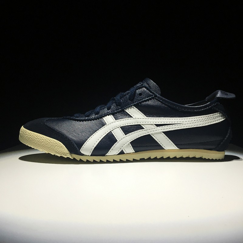2f11e9116498cb Asics Onitsuka Tiger Mexico 66 Deluxe Womens and Mens Campus Sport Shoes