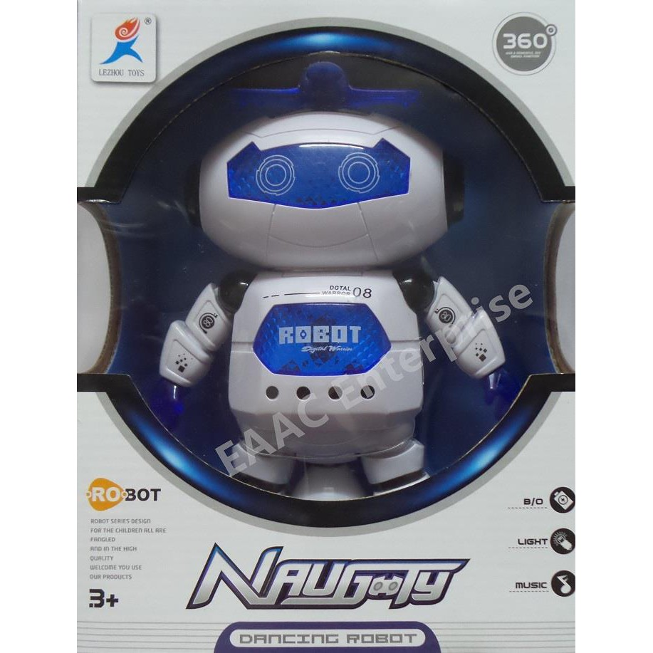 Naughty Electric Smart Space Walking Dancing Robot for Children Kids