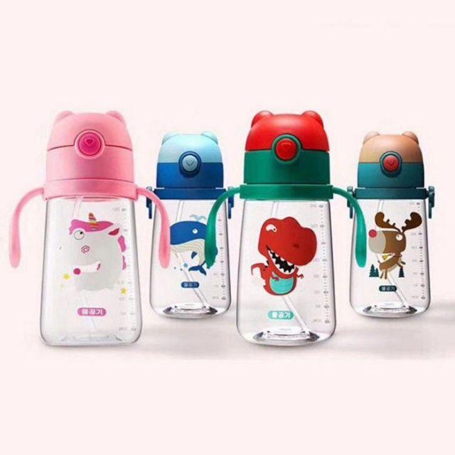 Lovely Stainless Steel Penguin Vacuum Cup Thermal Bottle Flask Cup Mug Kids SKR