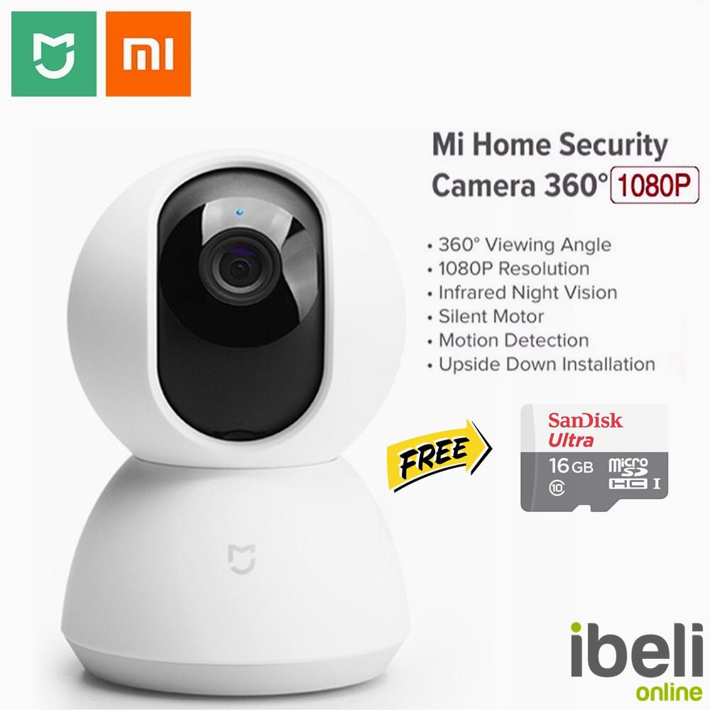 [ENGLISH] Xiaomi Mijia 360 IP Camera Mi Home CCTV Security Wifi Cam 1080p  FullHD English Version
