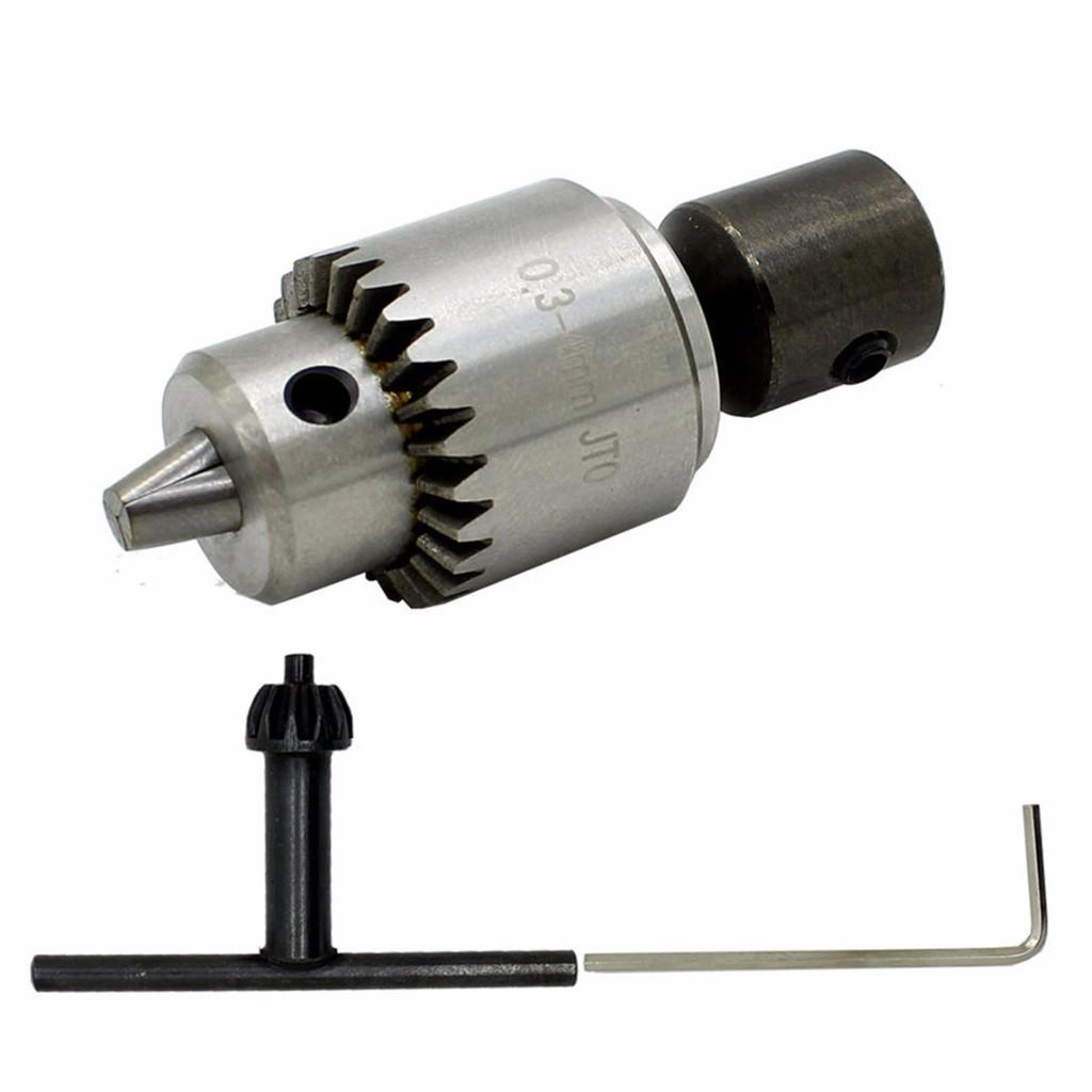 6pcs 1.0-3.0mm Aperture 3.17mm Copper Drill Chuck small motor mini Electric set