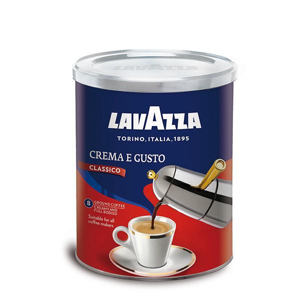 Lavazza Tin Crema E Gusto Ground Coffee 250g