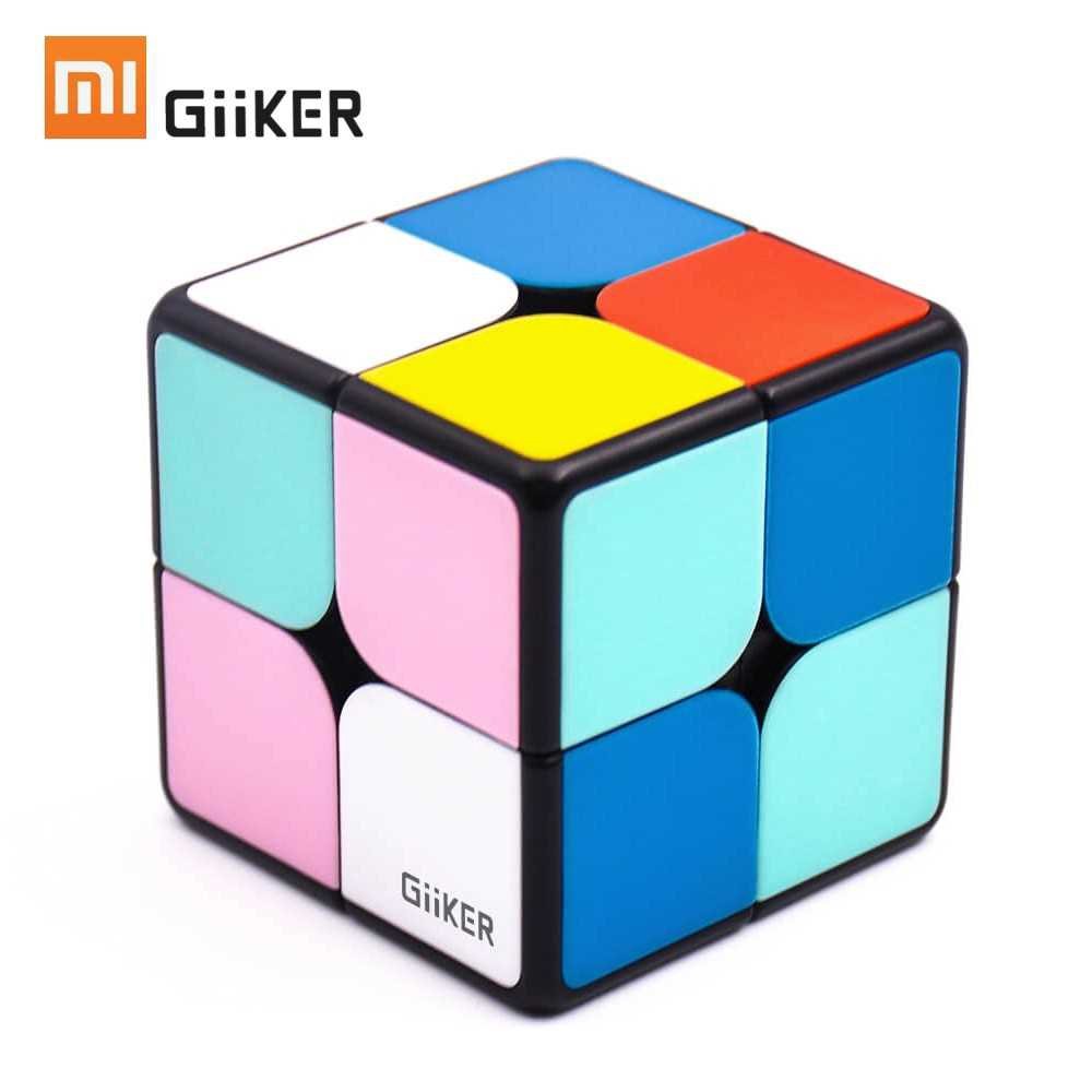 Xiaomi Mijia Giiker i2 Magnetic Cube Puzzle 2x2x2 4.9cm Speed Professional Square Magic Cube Puzzles Colorful For Man W