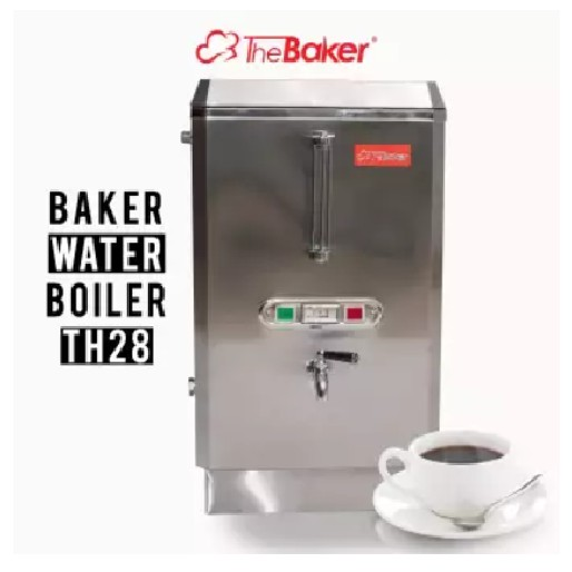 3000W 28L THE BAKER INDUSTRIAL COMMERCIAL STAINLESS STEEL ELETRIC WATER BOILER OKAZAWA INNOFOOD happypopper GOLDEN BULL