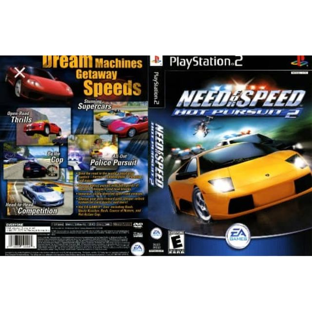 Ps2 Need For Speed Hot Pursuit 2 Shopee Malaysia