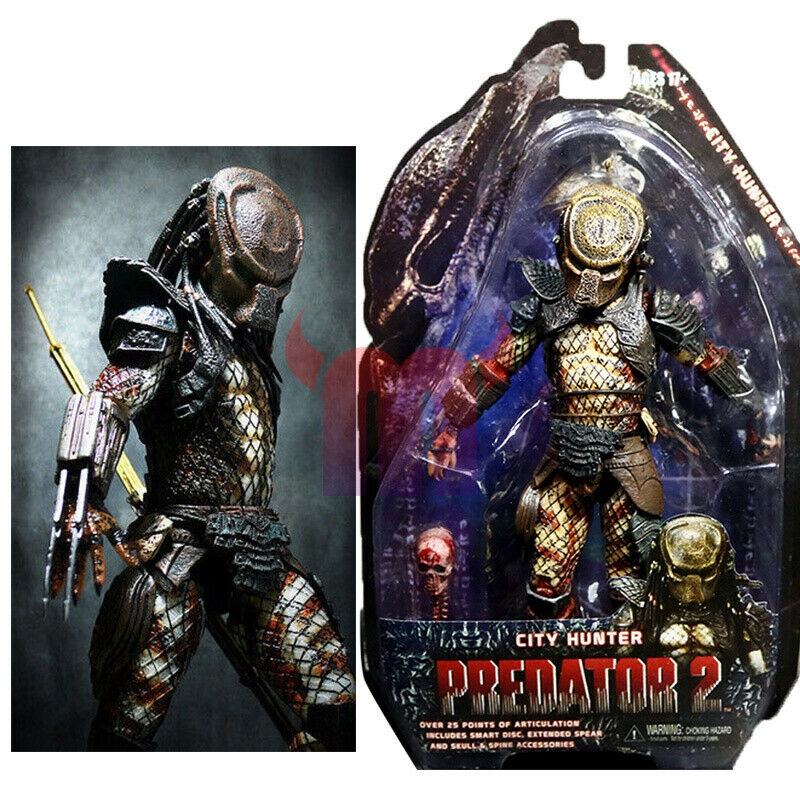 "NECA City Hunter Predator Falconer Hunter 7/"" Action Figure Predators Movie Doll"