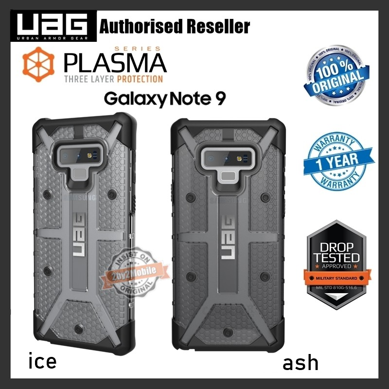new arrivals f2770 1eb5d Urban Armor Gear UAG Plasma Samsung Galaxy Note 9 Note9 case cover (ready  stock)