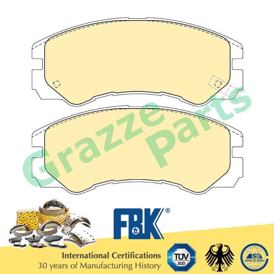 FBK Disc Brake Pad Front for FD4031MS Isuzu Trooper Bighorn 3.1 V6 UBS25