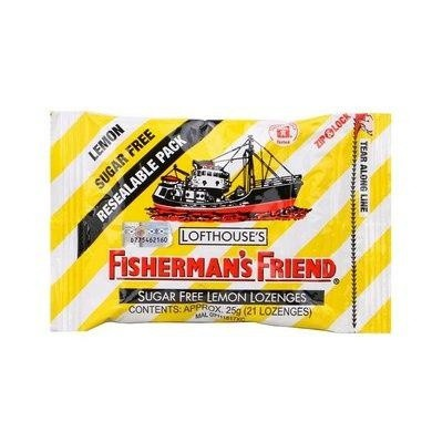 Fisherman\'s Friend Sugarfree Lemon Lozenges 25G