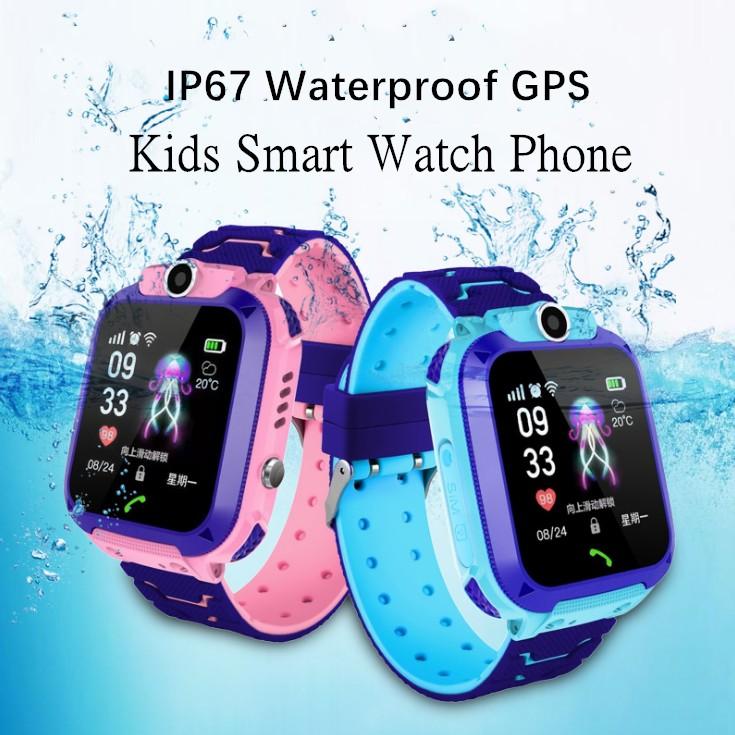 Kids Smart Watch Waterproof GPS/LBS Tracker Touch Screen SOS Children watch