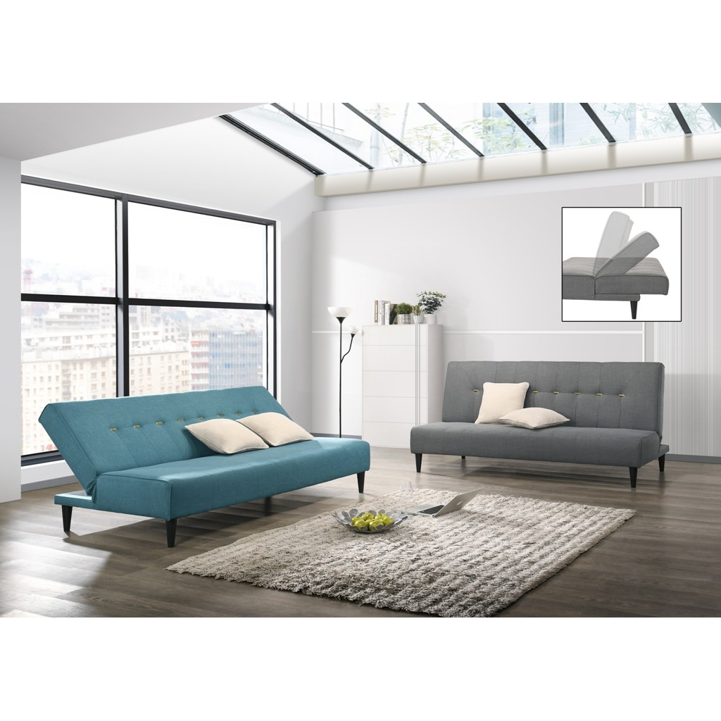 Prkogi 3 Seater Sofa Bed with 2 Free pillows