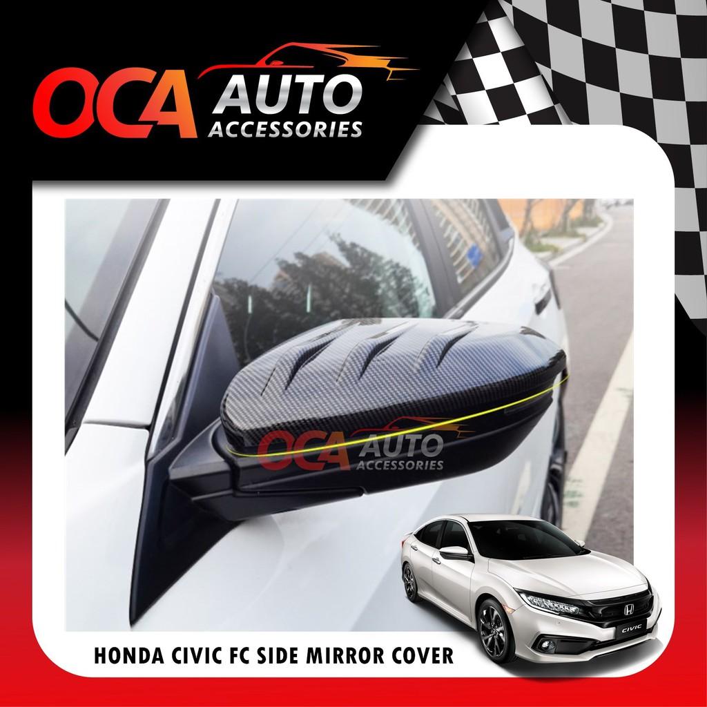 Honda Civic FC 2016-2020 Side Mirror Cover Blade Shape