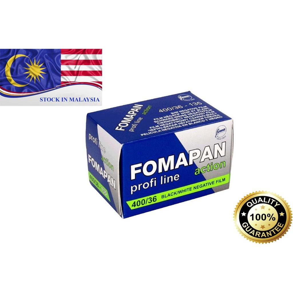 Fomapan 400 Black and White Negative Film (35mm Film, 36 Exposure)