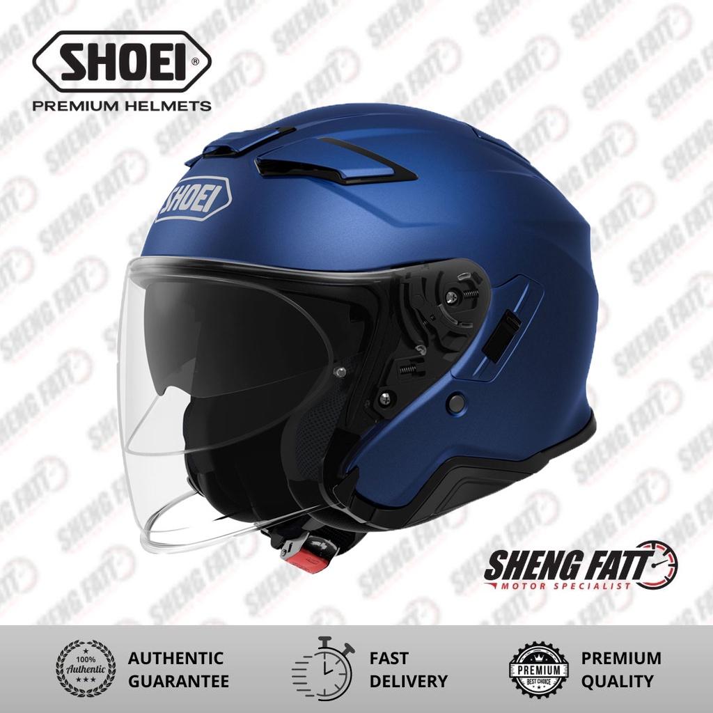Shoei J-Cruise 2 Matt Blue Open Face Helmet