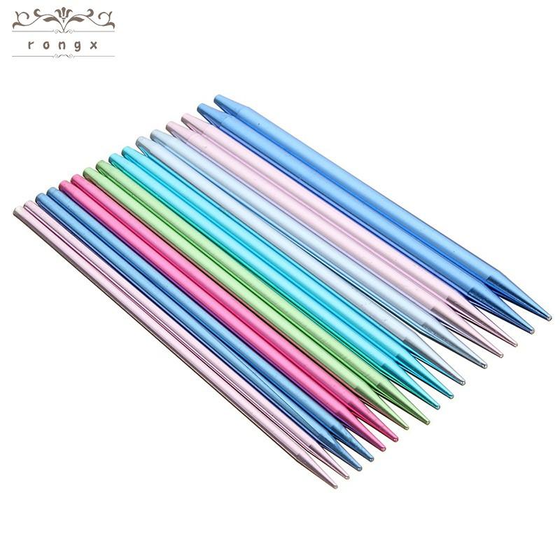 Interchangeable 13 Sizes Aluminium Circular Knitting Needles Set 2.75mm-10mm