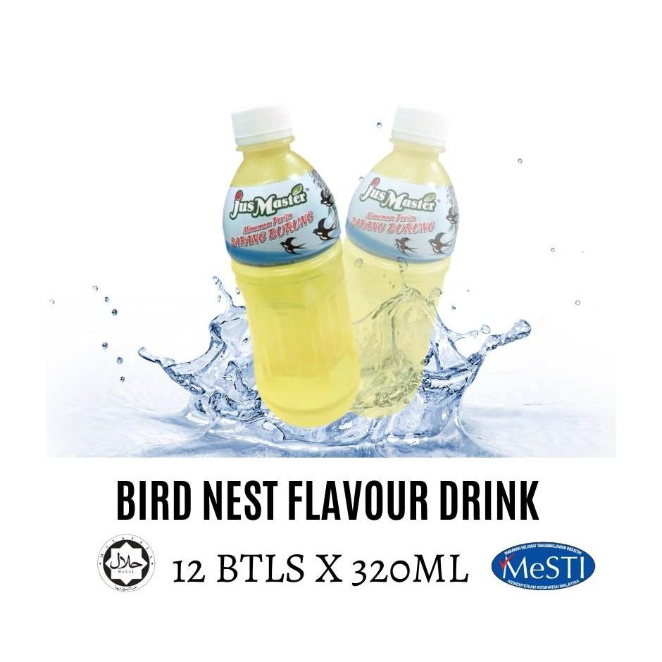 Jus Master Bird Nest/ Sarang Burung Flavour Drinks (12 x 320ML)