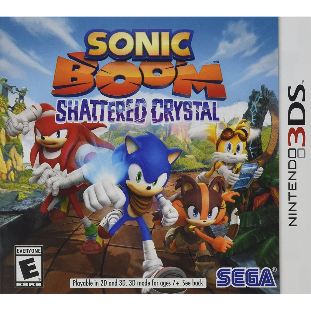 Sonic Boom: Shattered Crystal - Nintendo 3DS