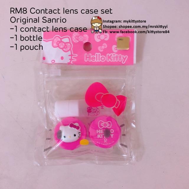 2a1f0e5b2 Hello Kitty Contact Lens Case Set | Shopee Malaysia