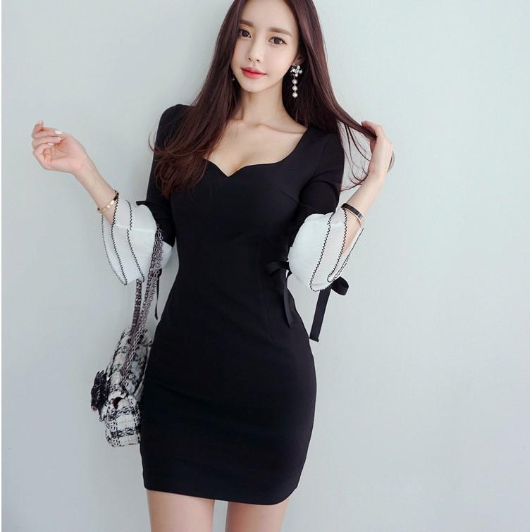 5d1021ab9ce37 [Free shipping]Emilia Bodycon dress *A0068