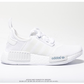 Adidas Nmd Runner competes with 290S3201 boost jogging shoes in black and white