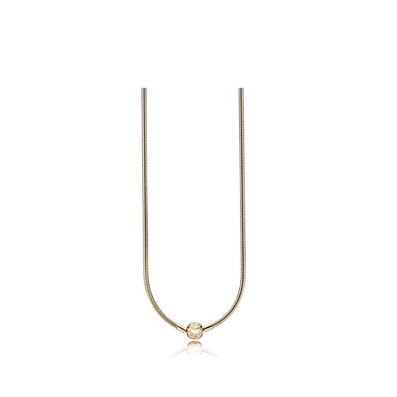 2631fae215c23 PANDORA Gold Ladies Fashion Necklace Clavicle Chain Necklace