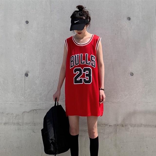【M~2XL】Korean bf Style Sleeveless Vest Or Suit with T shirt 篮球服女夏季外穿中长款无袖t恤背心韩版bf宽松运动学生球衣潮