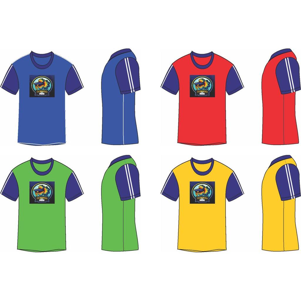 Baju budak lelaki perempuan Betta tshirt kids unisex design 2