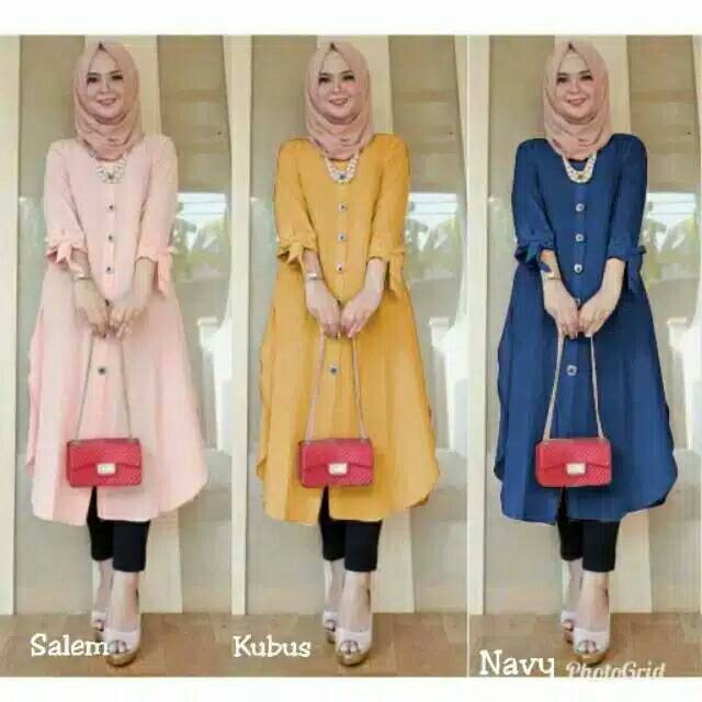 Duffy long tunic (thick material)