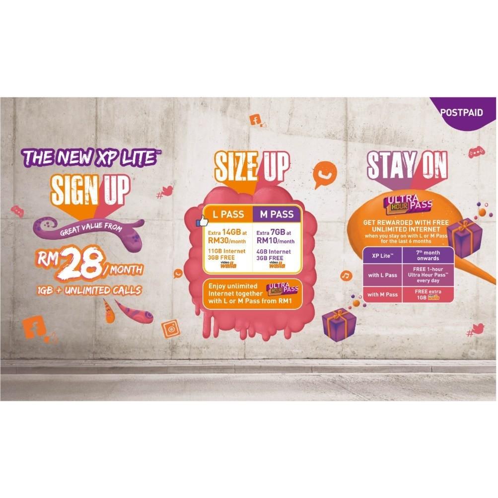 Celcom New Xpax Lite Postpaid RM 38 Unlimited Call + 8GB