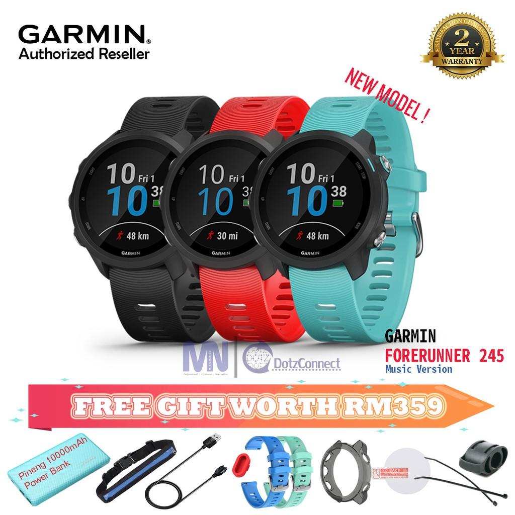Garmin Forerunner 245 / 245Music GPS Running watch & Advanced Training  Features