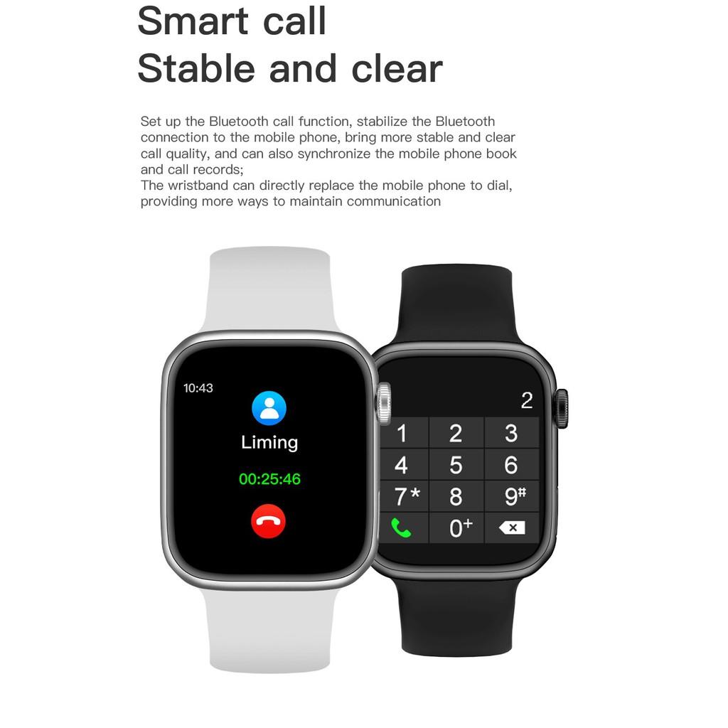 G500 GPS Tracker Smart Watch 44MM Bluetooth Call Body Temperature ECG Heart Rate Monitor Smartwatch