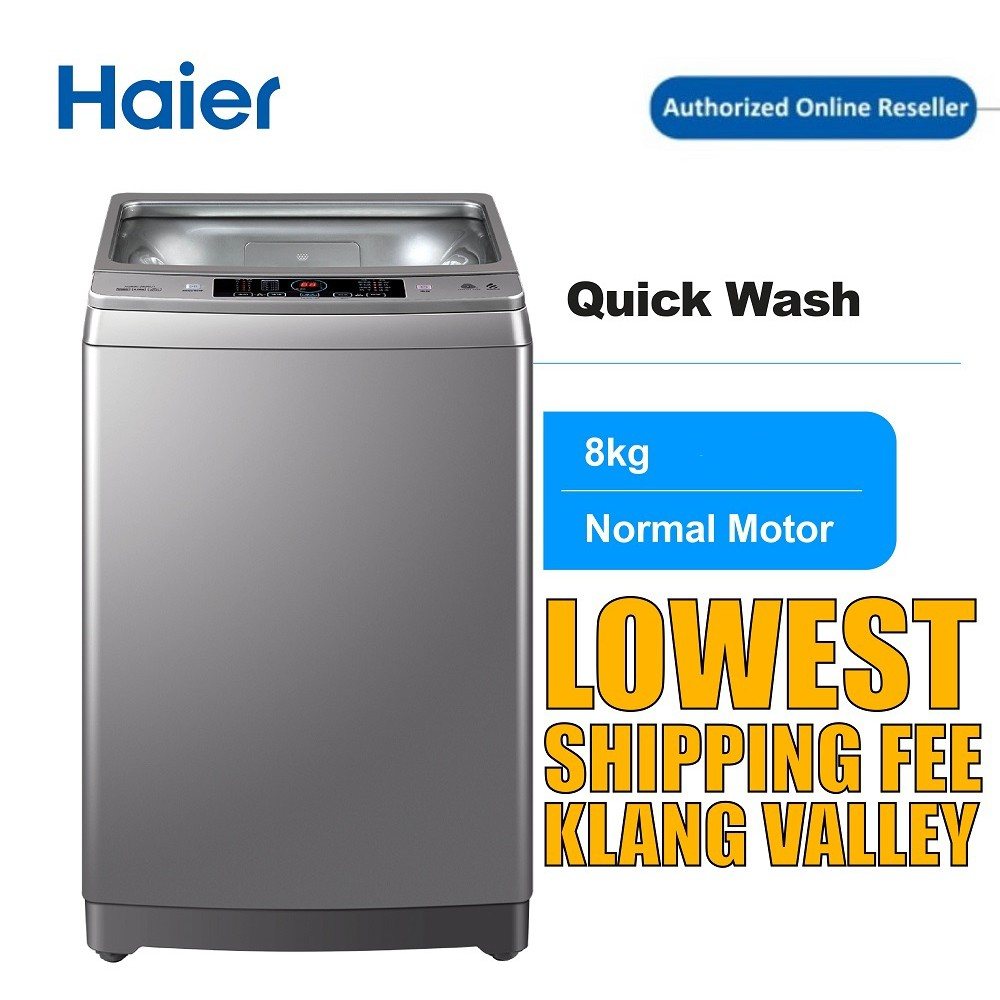 Haier HWM80-M826 8KG  Washing Machine with Top Load , Fully Auto , Quick Wash