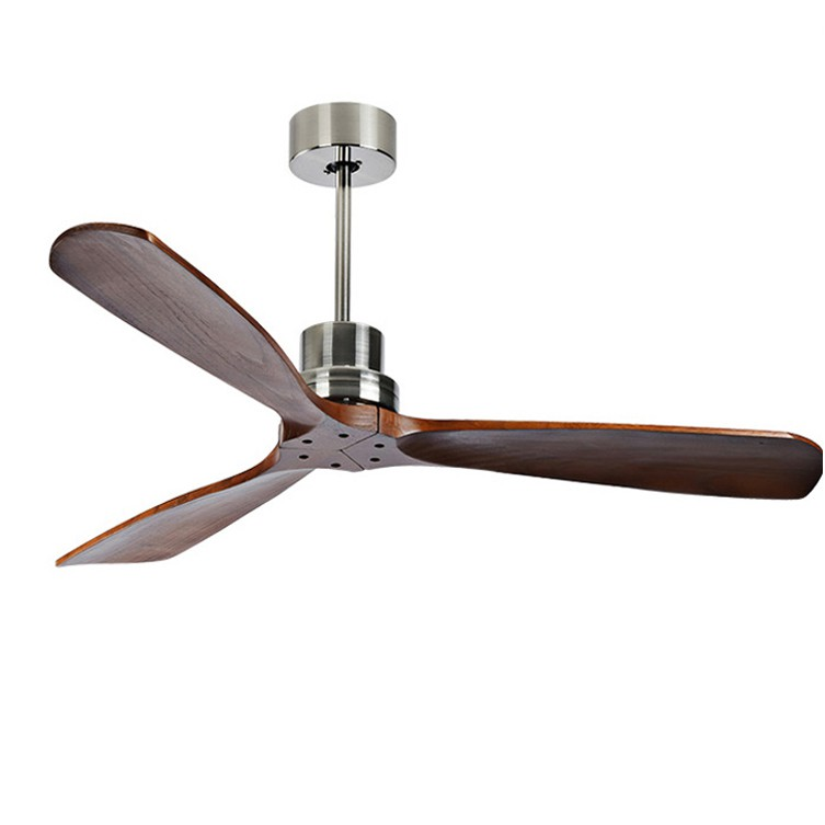 Industrial Vintage Ceiling Fan Without Light Wooden Ceiling Fans Shopee Malaysia