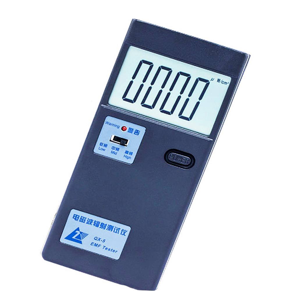 QX-5 Electromagnetic Radiation Tester EMF Household Radiation Tools EMF  Meter