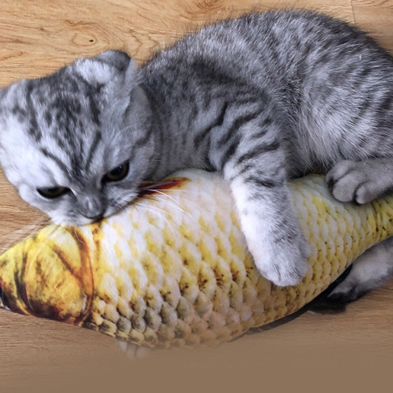 <b>FISH Cat Toy</b> Cat Mint <b>Fish Pet Cat Toys Simulation Fish</b> Cat Pillow ...