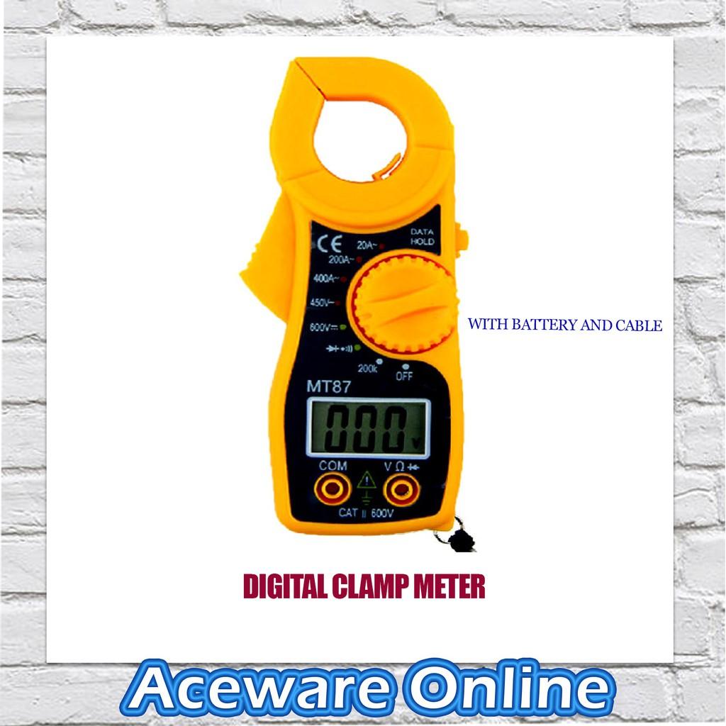 AC/DC Voltage Digital Clamp Meter Multimeter Kit Current Measurement Tool